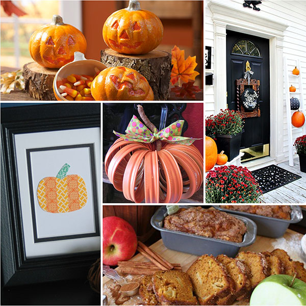 15 Pumpkin Projects YOU can make for fall at TidyMom.net