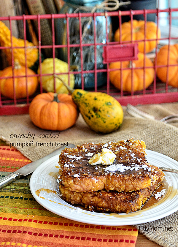 crunchy pumpkin french toast