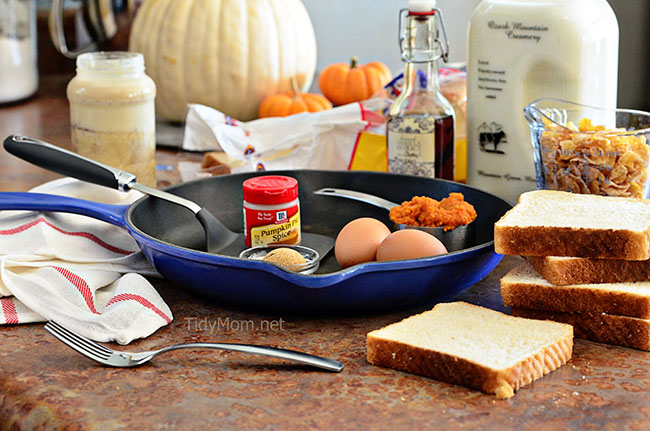 pumpkin french toast ingredients