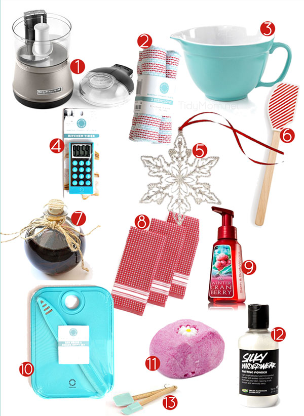 Favorite Things Gift Guide and Giveaway at TidyMom.net