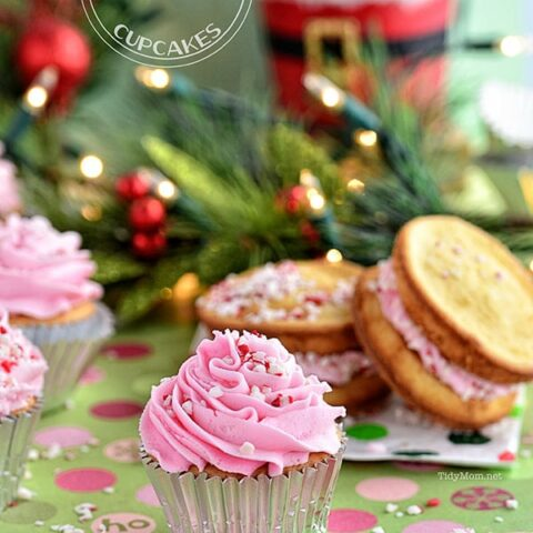 Vanilla Peppermint Cupcakes