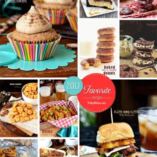 Top 10 Favorite Recipes of 2013 at TidyMom.net