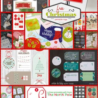 Find a plethora of free, printable Christmas tags that can be printed right at home. Most of the printable Christmas gift tags are great for presents under the tree, or any holiday presents you may have for your neighbors, teachers, the hair stylist, friends and more. Head over to TidyMom.net for all the details!