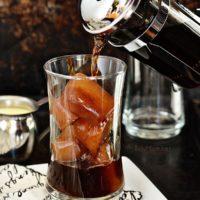 Eggnog Iced Coffee