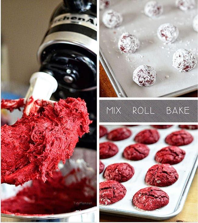 Easy Red Velvet Cake Roll