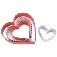 Heart Nesting Cookie Cutter Set