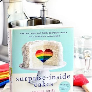 Surprise your friends and family with these stunningly inventive cakes, including easy-to-follow instructions that even a beginner can master. Surprise Inside Cakes by Amanda Rettke