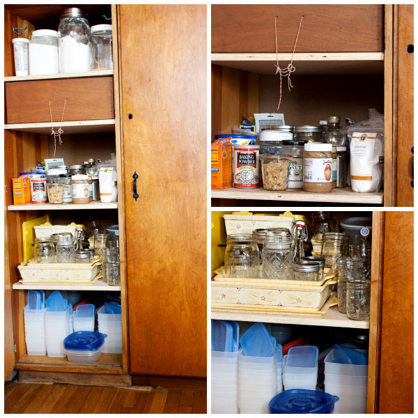 Organizing your kitchen with vintage finds at TidyMom.net