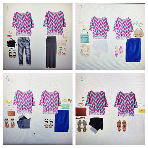 Bloggers design Stitch Fix Style Cards