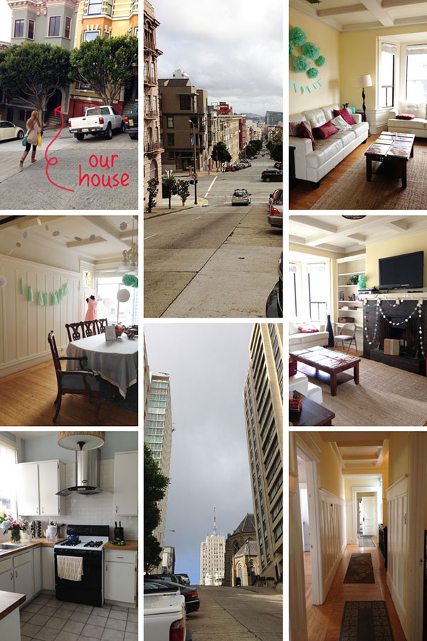 The house where we stayed in San Francisco while visiting Stitch Fix