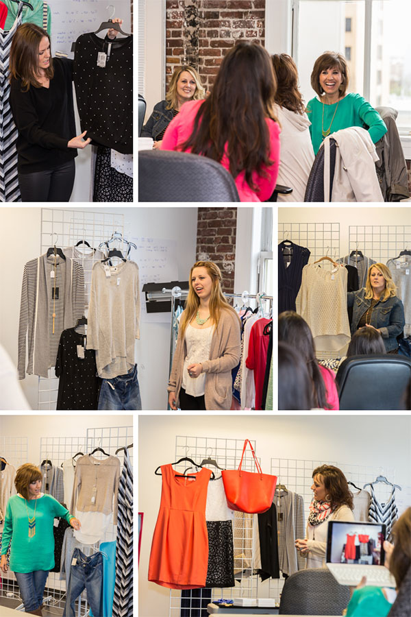 Flash at Stitch Fix with Bloggers