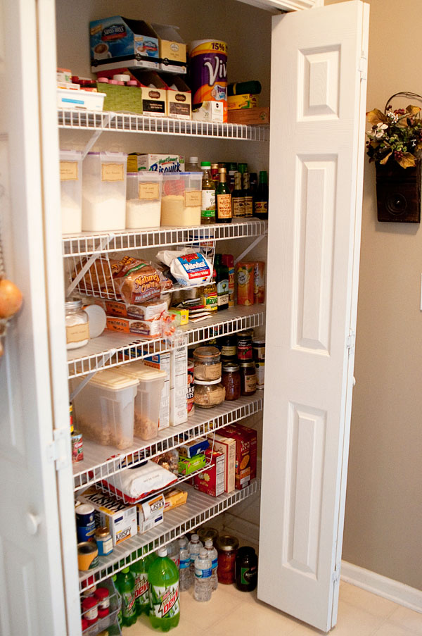 Pantry Organization tips at TidyMom.net