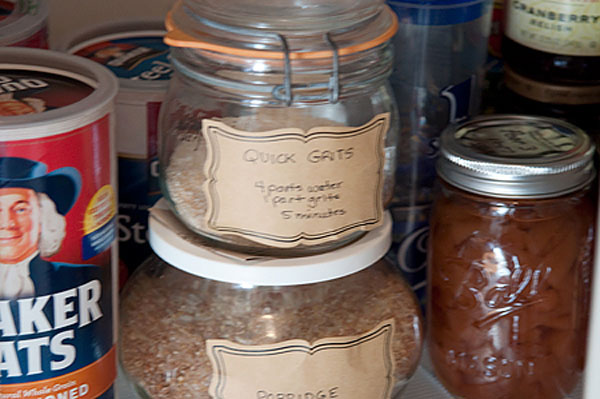 Pantry Organization free of pests at TidyMom.net