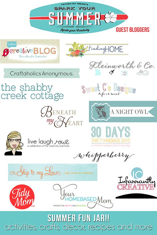 Spark Your Summer Guest Bloggers at TidyMom.net