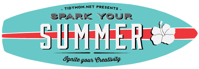 Spark Your Summer! Ignite your creativity with summer activities, crafts, decor, recipes and more at TidyMom.net