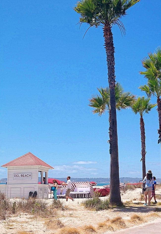 Coronado Island.  Hotel Del Coronado, California