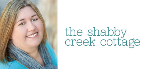 Gina from The Shabby Creek Cottage