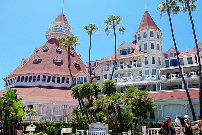 Hotel Del Cornonado, Califorina