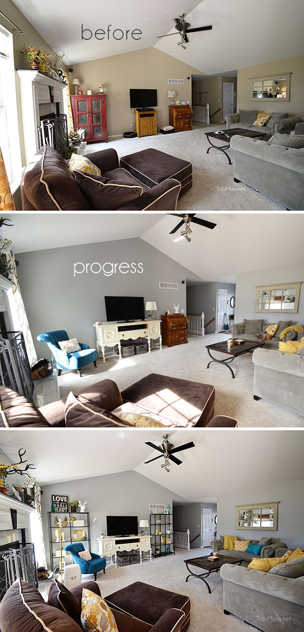 How To Decorate A Loft Living Room Upstairs: How To Decorate Around A Television