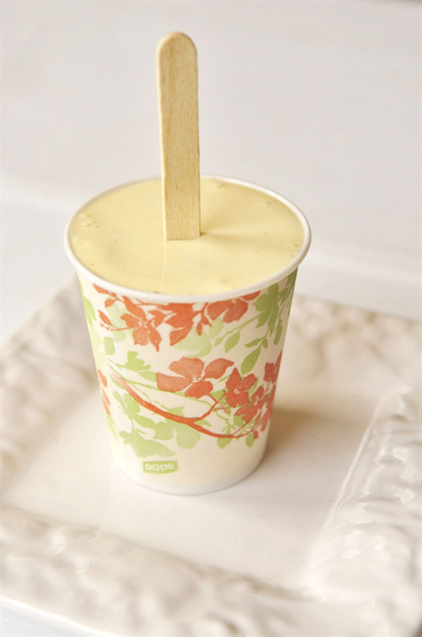 Orange Creamsicle in a paper cup