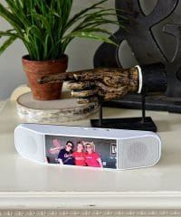 Meet the customizable bluetooth speaker that doubles as portable power source and can be customized with your photo or logo. PowerSound II GIVEAWAY at TidyMom.net