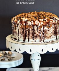 Biscoff Crunch Ice Cream Cake recipe at TidyMom.net