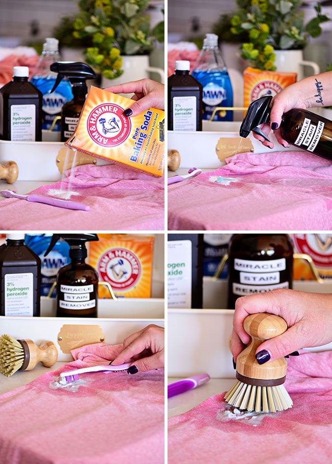 how to remove clothing stains with homemade stain remover