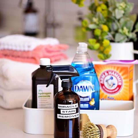 Homemade stain remover ingredients