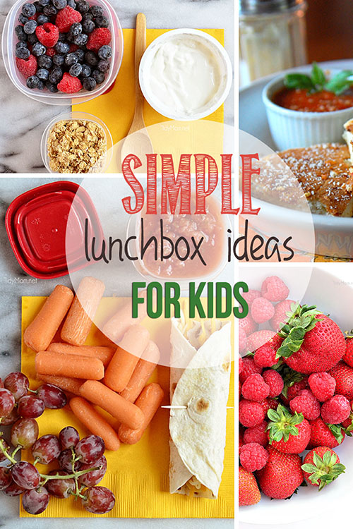 Simple Lunchbox Ideas for Kids