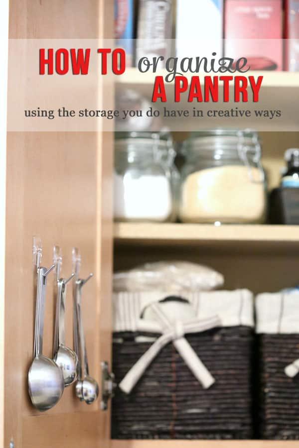 Kitchen & Pantry Organization Tips
