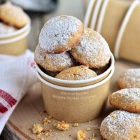 Gooey Butter Peanut Butter Cookies