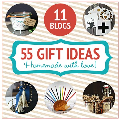 homemade gift crafts blog hop
