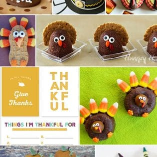 DIY Thanksgiving crafts and treats at TidyMom.net