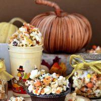 Turkey Munch Popcorn Snack Mix