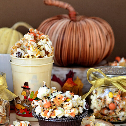 Turkey Munch Popcorn Snack Mix