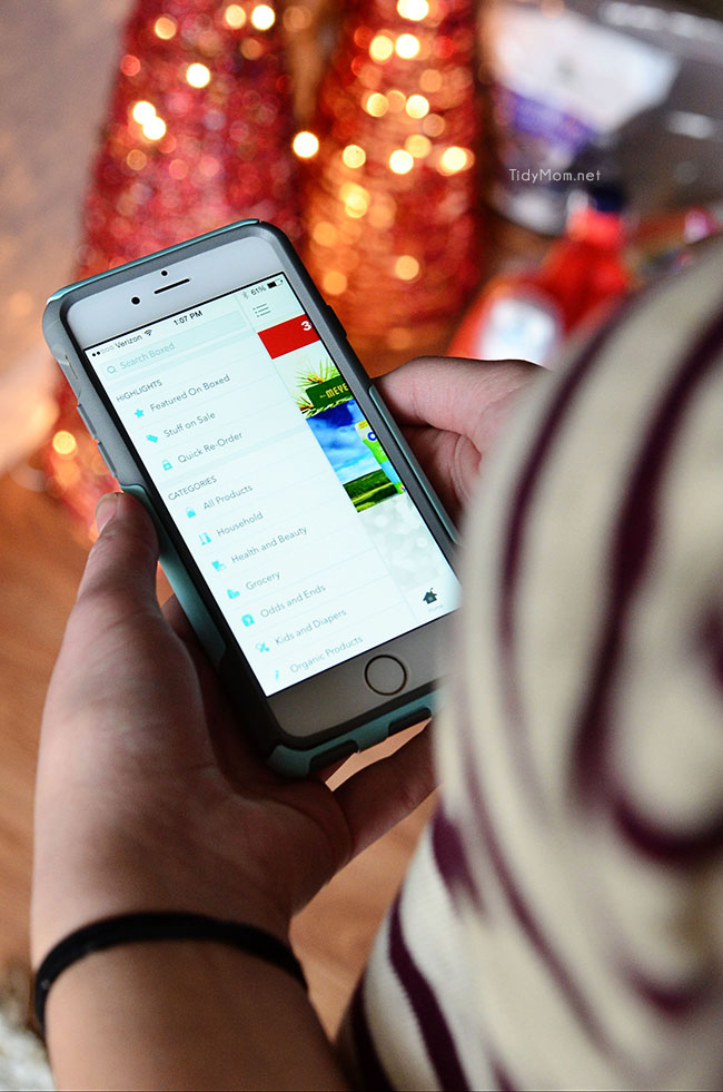 The Boxed app makes it easy to get hundreds of bulk-sized products at pint-sized prices delivered right to your door with NO MEMBERSHIP FEE . Learn more at TidyMom.net