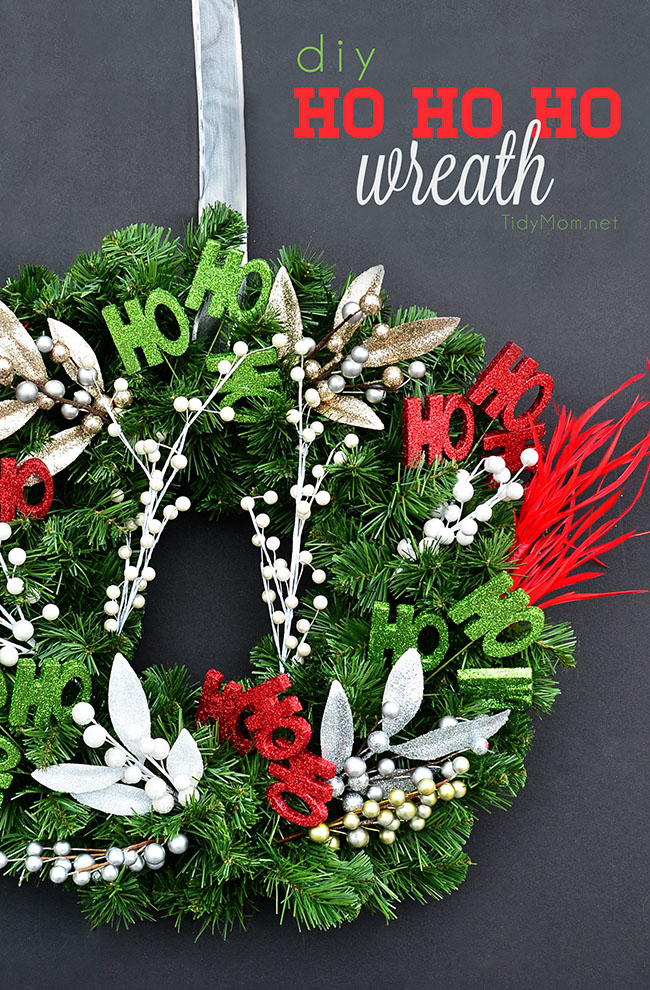 Astonishing simple christmas wreath diy tidymom Simple christmas wreaths