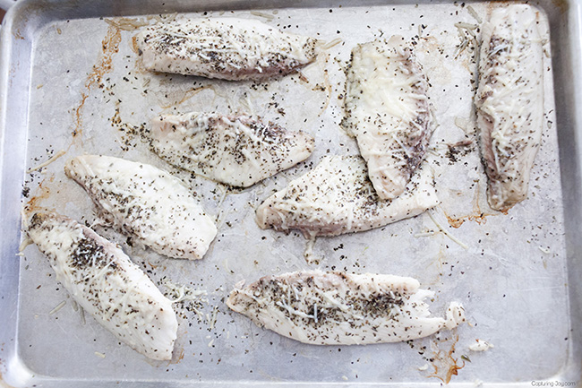 Baked Parmesan Tilapia by Capturing Joy recipe