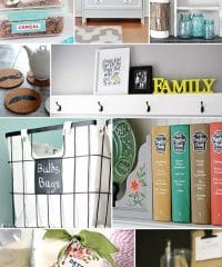 10 projects to inspire you - details at TidyMom.net