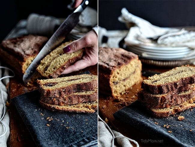 Homemade Cinnamon and Sugar bread recipe at TidyMom.net