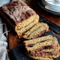 Cinnamon Bread with Cinnamon Crust and Swirl Inside