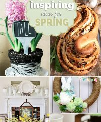 Fresh Inspiring Ideas for Spring projects, recipes and decor at TidyMom.net