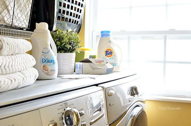 Free & Gentle laundry products are free of dyes and perfumes with all the cleaning power you'd expect. learn more at TidyMom.net