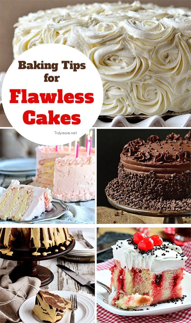 Baking Tips for Flawless Cakes