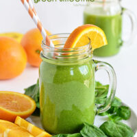 Energy Lift Tropical Green Smoothie
