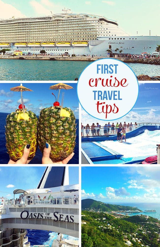 Before we went on our first cruise, I did a lot of research. I wanted to get a better idea of what to expect, what we needed and didn't need. Here are some things that we discovered and wanted to share. No matter what, you'll have the time of your life.....these first cruise travel tip might make it a  little easier!  via TidyMom.net