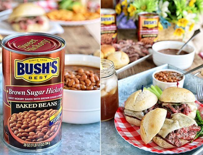Bush's Brown Sugar Hickory Baked Beans at TidyMom.net