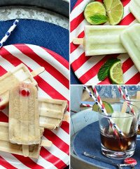 Share a Coke with Dad! Perfect for Father's Day, birthday or any day! Coke Float Popsicles and Poptails at Tidymom.net