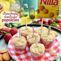 Strawberry Shortcake Popsicles Recipe