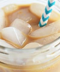 salted caramel ice coffee image